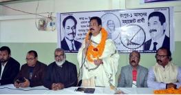 বাংলাদেশ গড়তে লাঙ্গল-নৌকার বিকল্প নেই: রাঙ্গা