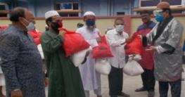 রংপুরে মসজিদের ইমাম-মুয়াজ্জিন ও উপাসনালয়ের পুরোহিতদের অর্থসহায়তা