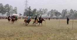 রংপুরে ঐতিহ্যবাহী ঘোড় দৌড় প্রতিযোগীতা