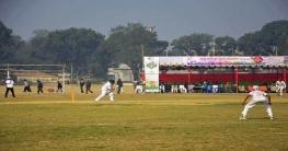 দিনাজপুরে বঙ্গবন্ধু জাতীয় স্কুল ক্রিকেট প্রতিযোগিতার উদ্বোধন
