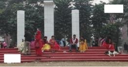 অস্থায়ী শহীদ মিনারেই একযুগে বেগম রোকেয়া বিশ্ববিদ্যালয়