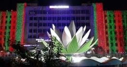 বঙ্গবন্ধুর জন্মদিন উপলক্ষে লাল-সবুজের সাজে রাজধানী