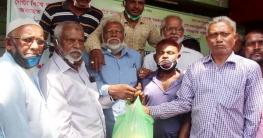 ঠাকুরগাঁও জেলা মটর পরিবহন শ্রমিক ইউনিয়ন'র খাদ্যসামগ্রী বিতরণ