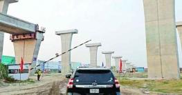 পদ্মা সেতু রেল সংযোগ প্রকল্প: করোনা সংকটেও থেমে নেই কাজ