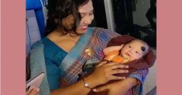 পঞ্চগরের ডিসির কোলে ফুটফুটে শিশু ঘুরে বেড়াচ্ছে নেট দুনিয়ায়