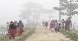 হেমন্তের শুরুতেই উত্তরাঞ্চলে শীতের প্রকোপ