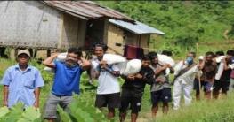 সরকারি খাদ্য সহায়তা পৌঁছালো জুরাছড়ির দুর্গম এলাকায়