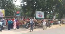 রংপুরেও চলছে করোনা মোকাবেলায় সর্বাত্মক লকডাউন