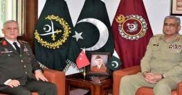 পাকিস্তান-তুরস্ক সামরিক সম্পর্ক আরো বাড়ানোর অঙ্গীকার