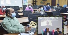 হাবিপ্রবিতে আইকিউএসি এর আয়োজনে শিক্ষকদের জন্য প্রশিক্ষণ কর্মশালা