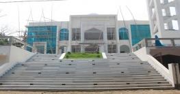 উদ্বোধনের অপেক্ষায় বদরগঞ্জেরদৃষ্টিনন্দন মডেল মসজিদ