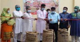 দিনাজপুরের হিলিতে সরকারিভাবে ধান ক্রয় কার্যক্রমের উদ্বোধন