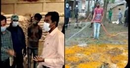 রংপুরে র্যাবের অভিযানে ব্যবসায়ীকে জরিমানা: নকল মসলা জব্দ