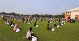 গাইবান্ধার ৪০০ পরিবহন শ্রমিকপেলেনপ্রধানমন্ত্রীর খাদ্য সহায়তা