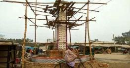 রংপুরে নির্মিত হচ্ছে আল্লাহর ৯৯ নামের স্তম্ভ