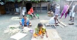 বদরগঞ্জ থেকে হারিয়ে যাচ্ছে বাঁশশিল্প
