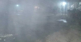 রংপুরে জেঁকে বসেছেতীব্র শীত ও ঘন কুয়াশা