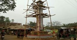 মিঠাপুকুরে নির্মিত হচ্ছে আল্লাহর গুণবাচক ৯৯ নামের সুবিশাল স্তম্ভ
