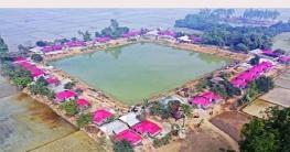 সরকারের আশ্রয়ণ প্রকল্প:গাইবান্ধায় ঠিকানা পেল ৫০ সাঁওতাল পরিবার