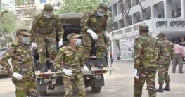 কুড়িগ্রাম হাসপাতালে মেডিক্যাল সরঞ্জাম দিল সেনাবাহিনী
