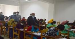 হাবিপ্রবিতে গুচ্ছ পদ্ধতিতে 'বি' ইউনিটের ভর্তি পরীক্ষা অনুষ্ঠিত