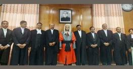 শপথ নিয়েছেন সুপ্রিম কোর্টের হাইকোর্ট বিভাগের ৯ জন বিচারপতি