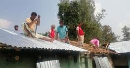 পীরগঞ্জের মাঝিপাড়ার বাসিন্দারা স্বাভাবিক জীবনে ফিরতে শুরু করেছে
